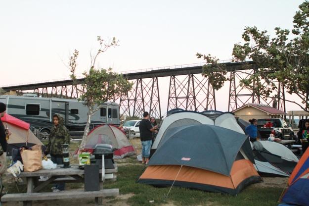 gaviota state park, beach camping, car camping, california, southern california