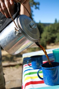 coffee pot camping percolator