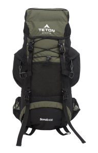 teton backpack internal frame