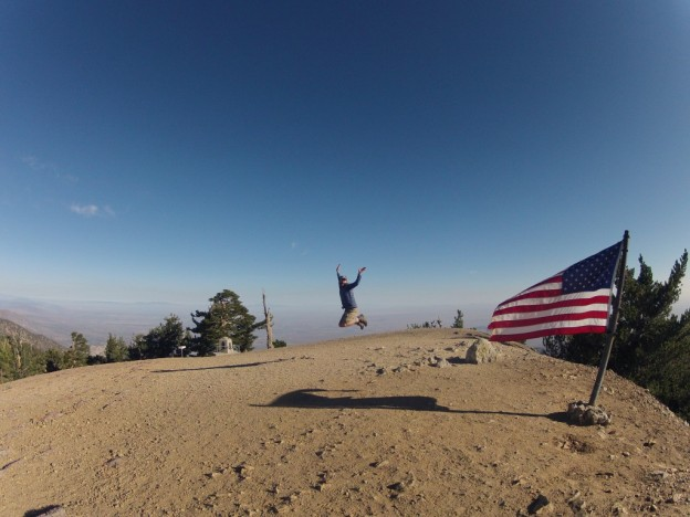 mt. baden-powell summit