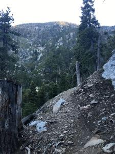 vivian creek trail switchbacks